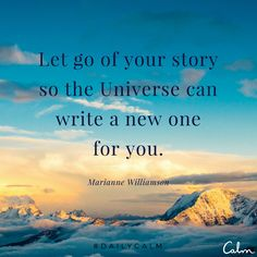 Let go of your story... #quotes