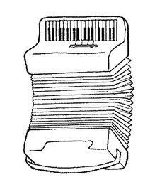 Dibujos para colorear de Instrumentos musicales, Plantillas para colorear de Instrumentos musicales