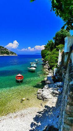 Greece   Ithaca island
