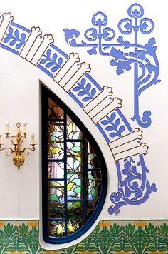 Tossa de Mar - Catalogna, Spagna   Casa Joan Sans 1906-1910 Architect: Antoni de Falguera i Sivilla