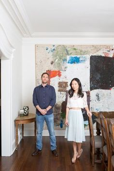 Home of Art Collectors Joshua and Sonya Roth