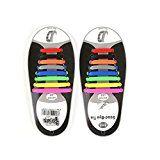 #7: Sin Corbata Cordones de Zapatos de Silicona Elástico para Niños y Adultos --          http://ift.tt/2wX3ckg          #zapato #zapatos #zapatosdemoda