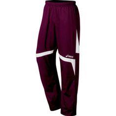 mens maroon wind pants