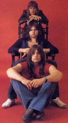 Emerson Lake & Palmer: Keith Emerson, Greg Lake and Carl Palmer