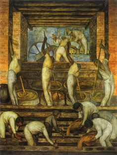 Diego Rivera The Sugar Mill oil painting for sale; Select your favorite Diego Rivera The Sugar Mill painting on canvas or frame at discount price. Diego Rivera Art, Diego Rivera Frida Kahlo, Frida And Diego, Mexican People, Mexican Artists, Mural Painting, Encaustic Painting, Oil Paintings, Museum Of Modern Art