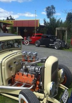 Classic Hot Rod, Classic Cars, Old Hot Rods, Ford Roadster, Traditional Hot Rod, Old Race Cars, Street Rods, Ford Models, Kustom