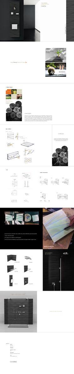 """내 @Behance 프로젝트 살펴보기: """"CHARILE_Tile [2012]"""" https://www.behance.net/gallery/45878399/CHARILE_Tile-2012"""