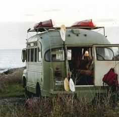 Perfect roadtrip bus