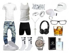 summer mens fashion that look gorgeous:) Dope Outfits For Guys, Swag Outfits Men, Outfits For Teens, Tomboy Outfits, Tomboy Clothes, Nike Clothes, Jordan Outfits, Men Clothes, Simple Outfits