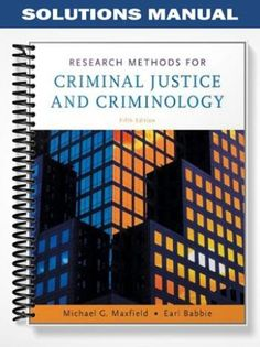Solutions manual for international financial management 12th solutions manual for research methods for criminal justice and criminology 5th edition by maxfield fandeluxe Gallery