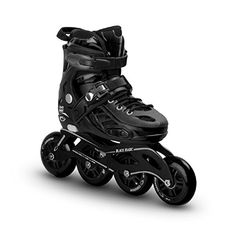 Racing Skates - Canariam Mens Inline Roller Skates Black Magic aggressive high performance profesional racing blade >>> Read more at the image link.