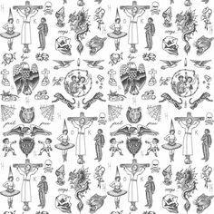 Tattoo Flash 01 Wallpaper - Original