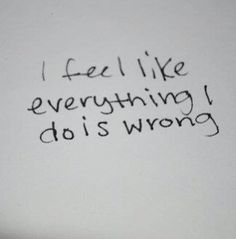 sometimes yeah... I get down and can never bring myself up.. kinda feel like that right now...