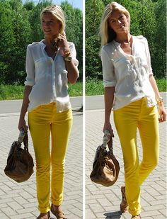 Sunshine Trousers (by Valerie Brems) http://lookbook.nu/look/1867126-Sunshine-Trousers