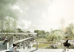 Sports Centre Heuried, Zurich  EM2N with Balliana Schubert Landscaping Ltd.