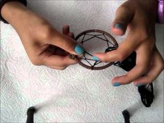 How to make a dream catcher necklace:Watch the Video there:http://www.youtube.com/watch?v=MLjG4BFW4ug