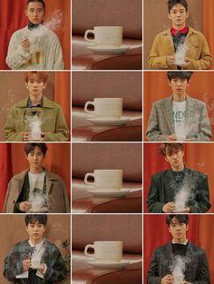#EXO #WINTER #Cafe_Universe #엑소_유니버스