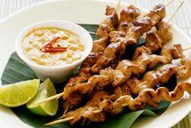 Peanut Sauce for Chicken Satay http://thaifood.about.com/od/thaicurrypasterecipes/r/Easy-Satay-Sauce-Recipe.htm