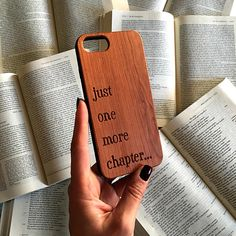 Book Phone Case, Book Lover Gifts, Literary Gift, Wood Phone Case, iPhone 8 Plus, 7, SE, Galaxy S8 P Book Phone Case, Phone Cases, Literary Gifts, Book Lovers Gifts, New Phones, Galaxy S8, Iphone 8 Plus, Words, Handmade Gifts