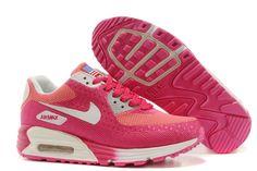 Nike Air Max 90 Blanco Rojo De Melocotòn HYP PRM Para Zapatillas Mujeres, EUR €87.43 | www.niketrainers.es