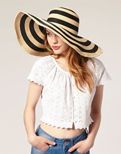 floppy striped hat, $36 The stripes make me smile :D