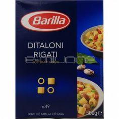 PASTA DI SEMOLA DITALONI RIGATI BARILLA GR. 500