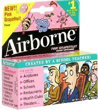 4 FREE Airborne Health Samples (3 Links) on http://hunt4freebies.com