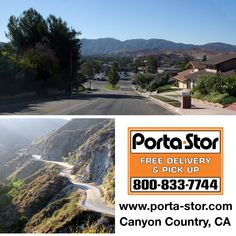 Rent Portable Storage Containers in Canyon Country, California? Call Porta Stor at 1-800-833-7744 to Rent Portable Storage Containers in Canyon Country.