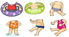 여름환경판 :) 수영복 * 수영모 도안 입니다 [첨부포함] : 네이버 블로그