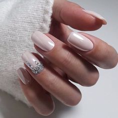 Nail art Christmas - the festive spirit on the nails. Over 70 creative ideas and tutorials - My Nails Manicure Nail Designs, Nail Manicure, Nail Art Designs, Nails Design, Gel Nail, Design Design, Nail Color Trends, Nail Colors, Winter Nail Designs