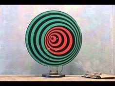Vintage hypnosis rotating disc machine - YouTube