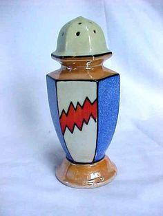 Vintage Lusterware Hat Pin Holder or  Sugar Shaker Art Deco