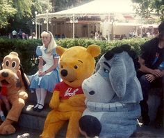 Disneyland in the early 90's