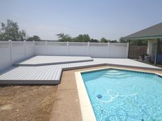 Future Outdoors is the top provider and builder of vinyl fencing, vinyl shade structures, and vinyl decks and railings in Dallas, Texas. Vinyl Deck, Vinyl Railing, Deck Railings, Dallas, Vinyl Board, Shade Structure, Stay Cool, Dark Colors, Fence
