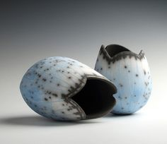 Fiona Mazza - North Yorkshire Open Studios - Fiona's work is noticeably influenced by landscape and the nature within it. Each piece is hand-built or slip cast and carved.
