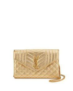F f gold dress gunmetal purse