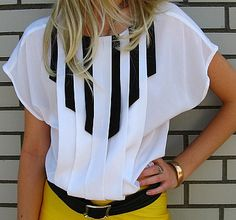 piano blouse