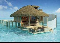 What could I write if I stayed here for a month?  Can't see me keeping my feet out of the sea at all - so no electronics!