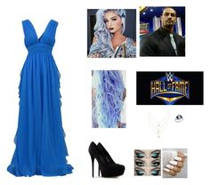 """Hall Of Fame India"" by ashleighreigns156 ❤ liked on Polyvore featuring WWE, MSGM and Casadei"