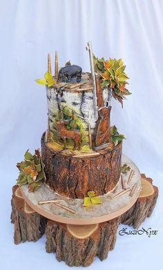 ..hunting cake.. - Cake by ZuziNyx