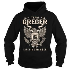Team GREGER Lifetime Member - Last Name, Surname T-Shirt