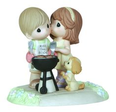Precious Moments Our Love Sizzles Figurine