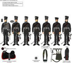 6th Uhlan Regiment, 3rd squadron (ex Luetzow Freikorps) 1815