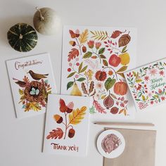 """Some of the new paper goods from today's shop update + a 15% discount until October 31st! Use FALL2015 at checkout to redeem - temporary link in my…"""