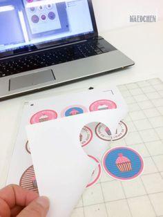 Motive mit dem Drucker ausdrucken und mit dem Plotter ausschneiden - leicht erklärt-