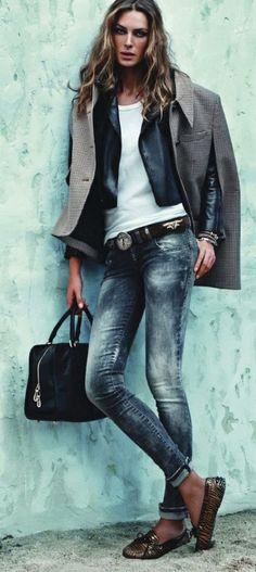 Denim wash #inspiracion #moda #nosencanta #jockeyplaza