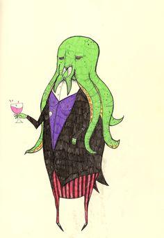 272. 'Gentleman Octupi' 29/03/2011