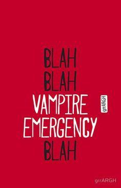 "True Blood Iphone 5 Case ""vampire Emergency""bbvb 1 By Grrargh"