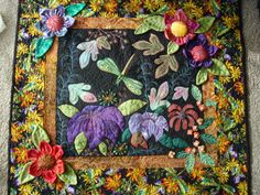 The Nifty Stitcher: how yummy is this? I could eat it with a spoon. Dragonfly Garden