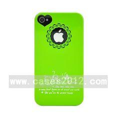 Flowers Open Series Flowers Open Series for iPhone 4/4S (Hard Case, Green) iPhone 4/4S Cases Hard Cases